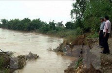Tổng chiều dài sạt lở bờ sông tại Quảng Nam lên tới 82km