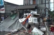 Ôtô mất lái liên tiếp gây tai nạn kinh hoàng làm 3 người chết