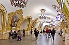 Xuất hiện thông tin dọa đánh bom ga tàu điện ngầm ở Moskva