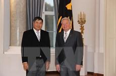 Tổng thống Đức vui mừng về quan hệ phát triển mạnh với Việt Nam