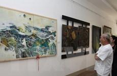 Lần đầu tiên tổ chức triển lãm về tranh sơn mài Việt Nam và Hàn Quốc