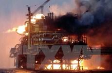 Azerbaijan khởi tố vụ cháy giàn khoan làm hơn 30 người mất tích