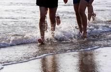 """[Photo] Giải chạy bộ """"Đôi chân trần trên biển Đà Nẵng"""""""