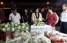 """Tăng cường giới thiệu thực phẩm """"sạch"""" tại Thành phố Hồ Chí MInh"""
