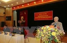 Tổng Bí thư Nguyễn Phú Trọng tiếp xúc các cử tri tại Hà Nội