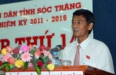 Ông Lâm Văn Mẫn được bầu làm Chủ tịch HĐND tỉnh Sóc Trăng