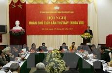 Hội nghị lần thứ bảy Đoàn Chủ tịch UBTW Mặt trận Tổ quốc