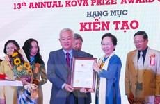 29 tâp thể, cá nhân được nhận giải thưởng KOVA lần thứ 13