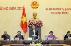 Khai mạc Phiên họp thứ 44, Ủy ban Thường vụ Quốc hội Khóa XIII