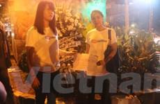 [Photo] Hình ảnh ban đêm tại khu vực bị khủng bố của Jakarta
