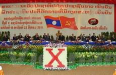Khai mạc Đại hội Đại biểu toàn quốc lần thứ X của Đảng NDCM Lào
