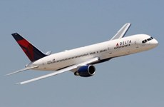 Máy bay Boeing 757 của Delta hạ cánh khẩn cấp tại sân bay Narita