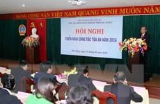 Triển khai công tác năm 2016 của Tòa án Nhân dân hai cấp Đà Nẵng