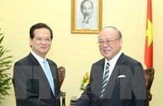 Thủ tướng tiếp Cố vấn đặc biệt Liên minh Nghị sỹ Hữu nghị Nhật-Việt