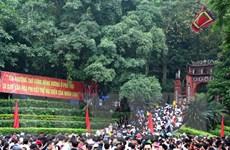 Chủ tịch Quốc hội thăm và dâng hương tưởng niệm các Vua Hùng