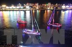 Đoàn đua thuyền buồm Clipper rời Đà Năng đi Trung Quốc