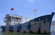 Hạ thủy tàu vỏ sắt đầu tiên đóng tại Quảng Trị theo Nghị định 67