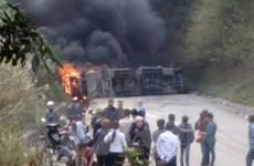 Tiếp tục khắc phục hậu quả vụ xe bồn đâm xe khách tại Hòa Bình