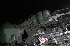 Lính dù Nga tiến hành tập trận gần biên giới Tajikistan-Afghanistan