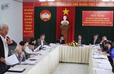 Các địa phương tiếp tục tổ chức Hội nghị Hiệp thương lần 2