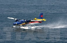 Kịp thời đưa ngư dân từ Trường Sa về cấp cứu bằng thủy phi cơ