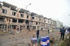 Vụ nổ ở Văn Phú: Thu được nhiều mảnh kim loại dùng để chế tạo bom