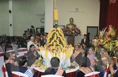 Long trọng đón Tết cổ truyền Bunpimay của Lào tại Hà Nội