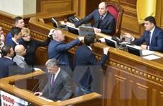 """""""Sóng ngầm"""" mới trên chính trường Ukraine sau khi thủ tướng từ chức"""
