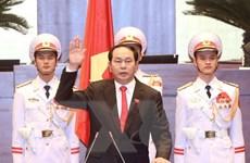 Điện, Thư chúc mừng Chủ tịch nước, Thủ tướng và Chủ tịch Quốc hội