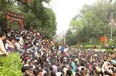 Hơn 8 triệu lượt người về dâng hương tưởng niệm các vua Hùng