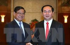 Chủ tịch nước Trần Đại Quang tiếp Phó Thủ tướng Campuchia