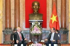 Chủ tịch nước Trần Đại Quang tiếp Đại sứ Liên bang Nga