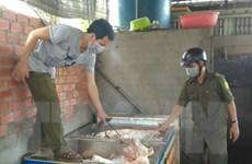 Bắc Giang: Thu giữ thực phẩm, sản phẩm không rõ nguồn gốc