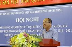 TP Hồ Chí Minh tổ chức hội nghị tiếp xúc cử tri từ ngày 2-18/5