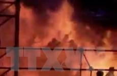 Nhà tổ chức bị phạt tù trong vụ cháy ở công viên nước Đài Loan