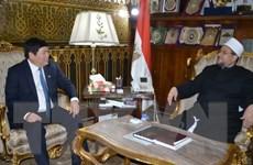 Đoàn công tác Ban Tôn giáo Chính phủ làm việc tại Ai Cập
