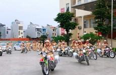 Công an Hà Nội đồng loạt ra quân mở đợt cao điểm trấn áp tội phạm