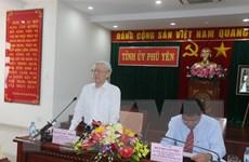 Tổng Bí thư yêu cầu Phú Yên khai thác toàn diện thế mạnh rừng, biển