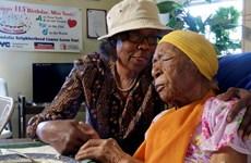 Người cao tuổi nhất thế giới qua đời ở tuổi 116 tại New York