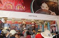 Gian hàng Việt Nam gây được chú ý tại Hội chợ văn hóa tại Mexico