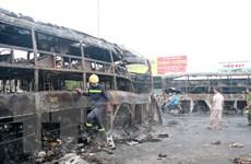 Bảo Việt tạm ứng bồi thường vụ tai nạn thảm khốc tại Bình Thuận