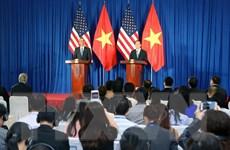 Chủ tịch nước và Tổng thống Barack Obama chủ trì họp báo quốc tế