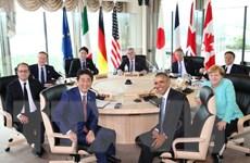 G7 cam kết hợp tác đảm bảo an ninh hàng hải tại Biển Đông