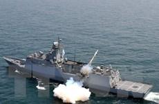 Hàn Quốc bắn cảnh cáo tàu Triều Tiên vượt qua biên giới trên biển