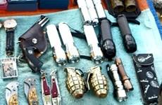 Trấn áp nhóm tội phạm dùng súng và lựu đạn giải quyết mâu thuẫn