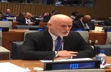 Đại sứ Fiji tại LHQ trúng cử chức Chủ tịch Đại hội đồng khóa 71