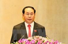 Báo Campuchia viết về chuyến thăm của Chủ tịch nước Trần Đại Quang