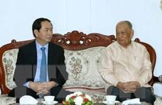Chủ tịch nước kết thúc chuyến thăm cấp Nhà nước tới CHDCND Lào