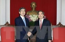 Trưởng ban Kinh tế Trung ương tiếp Chủ tịch Ngân hàng ADB