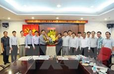 Bí thư Thành ủy TP.HCM Đinh La Thăng thăm TTXVN khu vực phía Nam